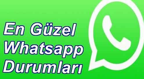 En Güzel Whatsapp Durumları