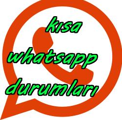 Kısa Whatsapp Durumları