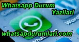 Whatsapp Durum Yazıları